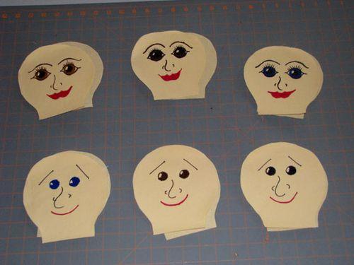 Honduras doll faces
